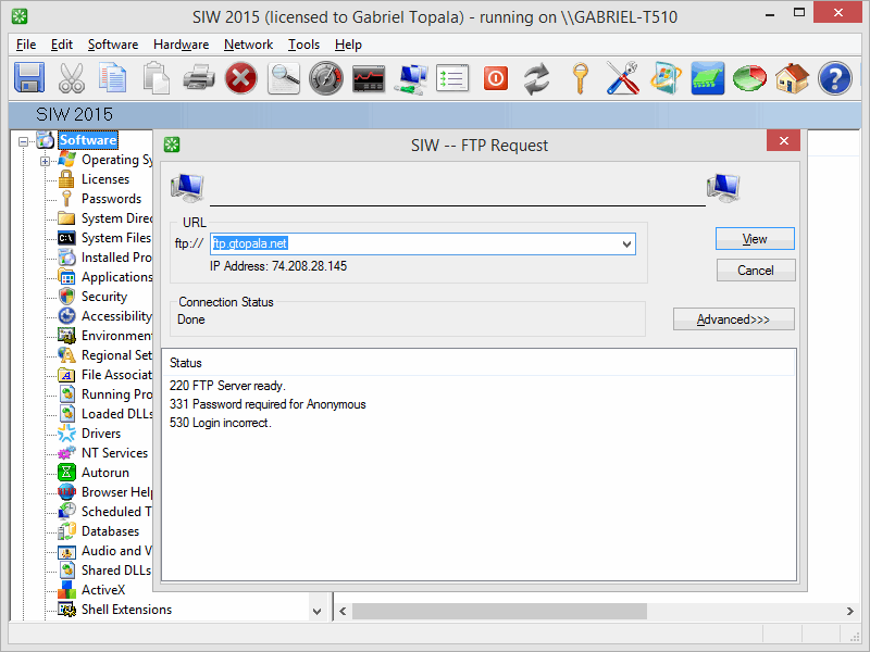 SIW - Business Edition Screenshot