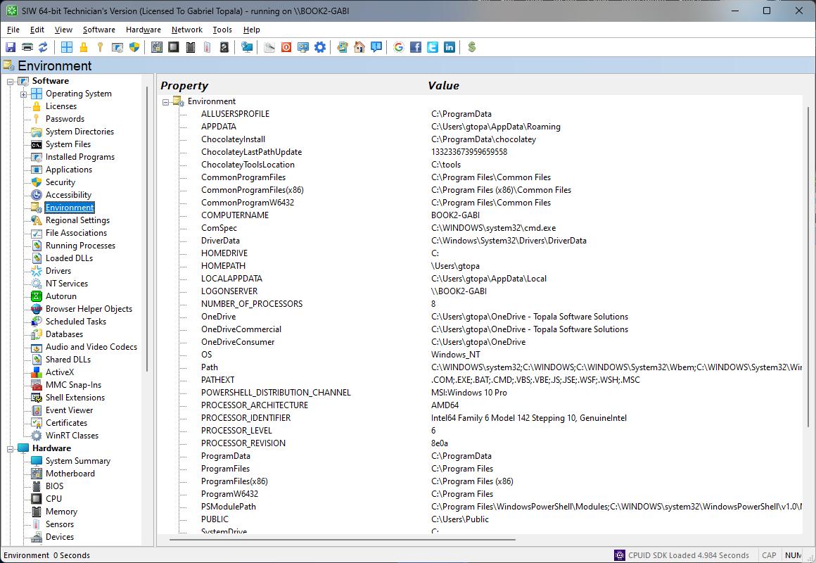 SIW - System Information for Windows by Gabriel Topala